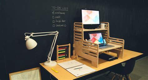 portable standing desk kickstarter portable standing desk attachment stand up desk