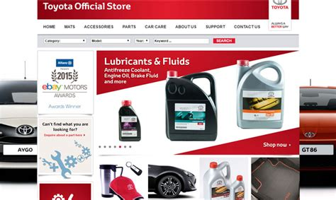 toyota official store buy your parts from toyota