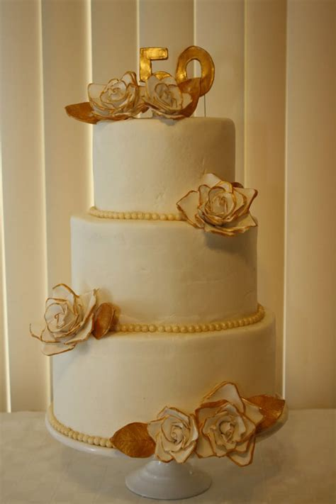 Wedding Anniversary Design Ideas by 50th Wedding Anniversary Cakes