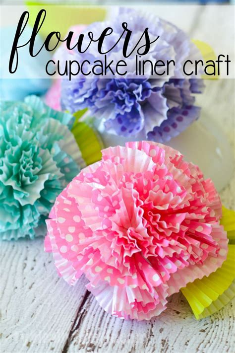 Cupcake Paper Crafts - 25 best ideas about cupcake liner flowers on