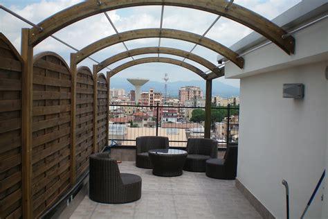 coperture terrazzo in legno copertura in legno lamellare per terrazzo ma co s a s