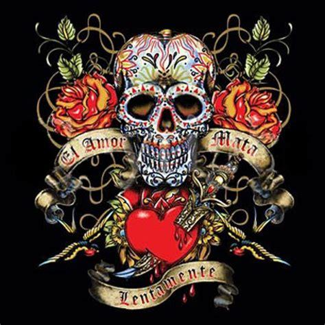 love kills slowly tattoo designs el mata lentamente kills slowly t shirt