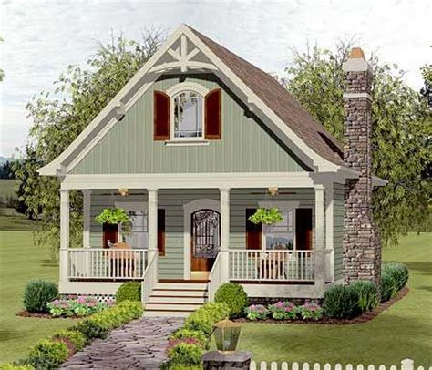 small houses plans cottage plan 20115ga cozy cottage with bedroom loft 40