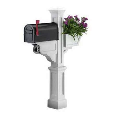 Mailbox Post With Planter by Mailbox Planter Post Mount Mailboxes This House