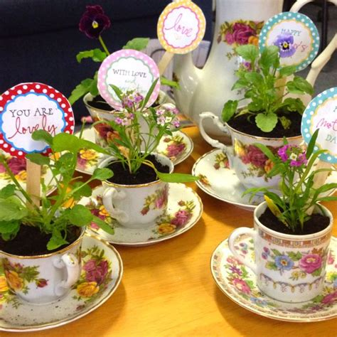 tea crafts for mothers day crafts after the tea they