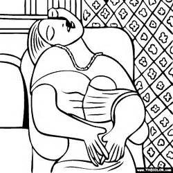 picasso coloring pages coloring pages starting with the letter p