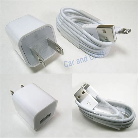Adaptor Iphone 5 Original genuine apple iphone 6 5 5c 4s us ipod charger adapter a1385 usb cable original ebay