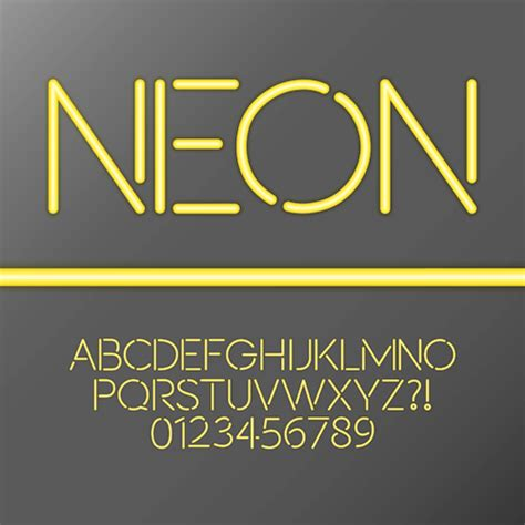 free download neon typography neon light font download www imgkid com the image kid