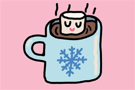 hot cocoa gifs find share  giphy