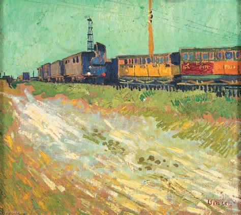carrozze ferroviarie carrozze ferroviarie olio su tela di vincent gogh