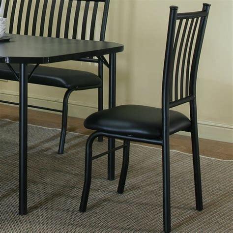 Cramco Furniture by Cramco Inc Cramco Dinettes Dorado Black Texture Black