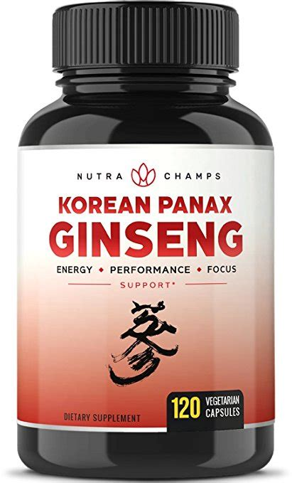 Dijamin Nature S Health Korean Ginseng 500mg 100 Capsules top 10 best korean ginseng and panax ginseng products for sale review ten benefits of