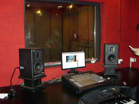 Recording Studio Interior by Portfolio Of And Ivory Studios