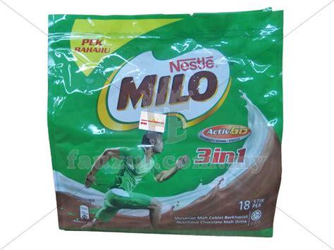 Milo Activ 3in1 milo 3in1 activ go 18s fauzul enterprise