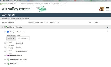 Add An Event To My Calendar Add To My Calendar Feature Our Valley Events