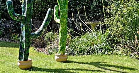giant paper mache cacti   home