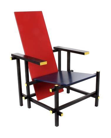 stuhl blau rot blau stuhl by gerrit rietveld on artnet