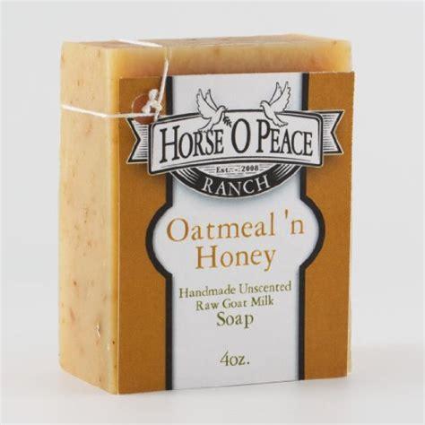 Handmade Honey Soap - handmade 100 goat milk oatmeal n honey soap 4 5oz