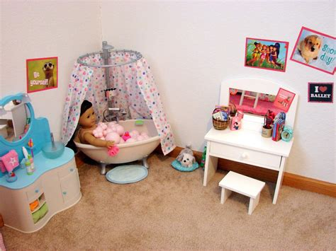 american girl doll bathroom american girl doll play our doll play area the bathroom