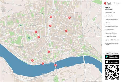 porto map porto mapa tur 237 stico em pdf sygic travel