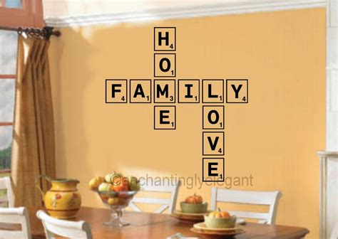 100 scrabble letters home decor large scrabble