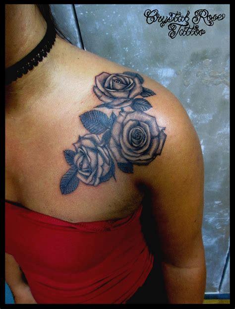 crystal rose tattoo tattooji