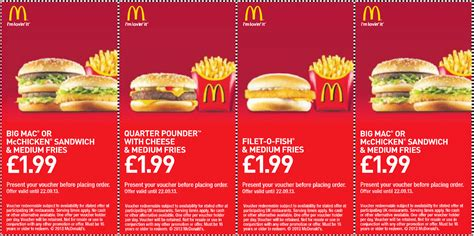 mcdonalds printable vouchers uk 2015 current mcdonalds coupons 2017 2018 best cars reviews