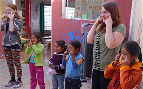 peru children and education projects volunteer abroad