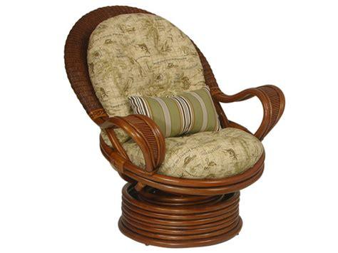 rattan coil base swivel rocker chair replacement cushion overstock rattan coil base swivel rocker chair with