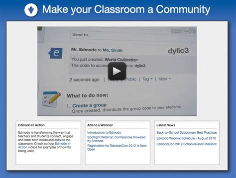 edmodo notifications edmodo secure social learning network for teachers and