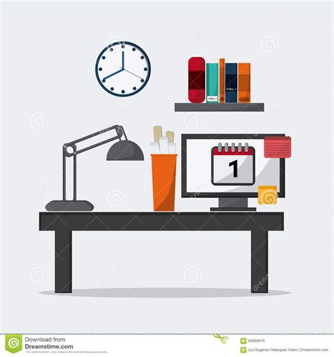 icon design office office icons design stock vector image 65830619