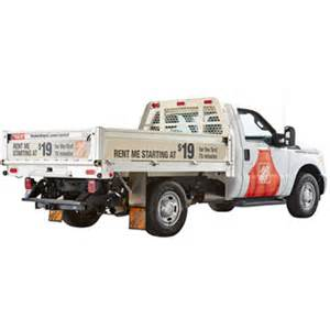 truck rental home depot cost home depot rental truck prices