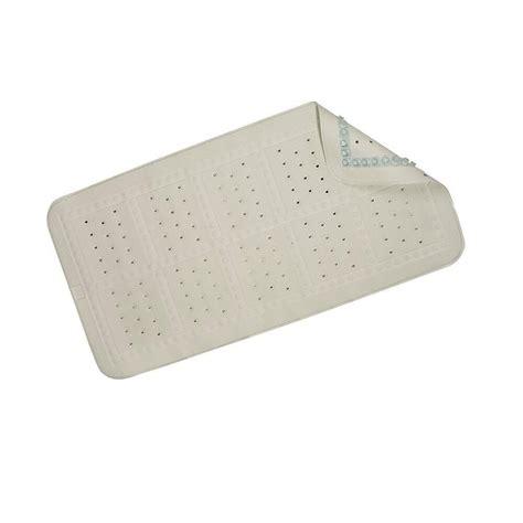 cushioned bathtub mat croydex medium cushioned bath mat in white bb201022yw
