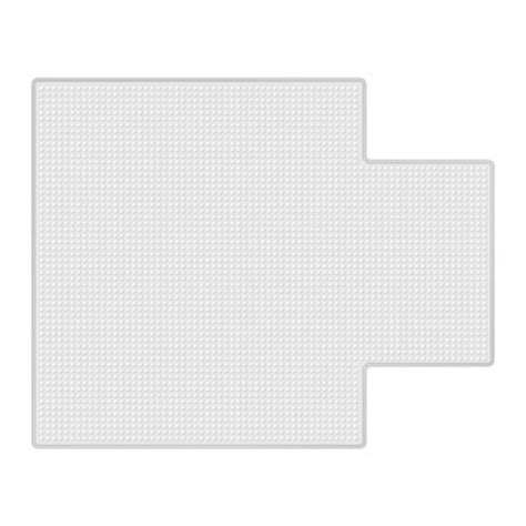 staples chair mat 115 x 134 cm clear pvc staples staples