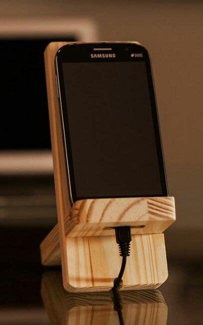 diy phone stand  dock ideas      box