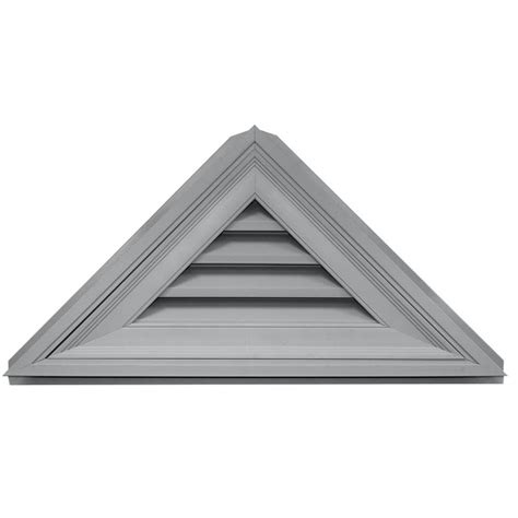 home depot paint triangles shop builders edge 34 1 in x 17 in paintable triangle