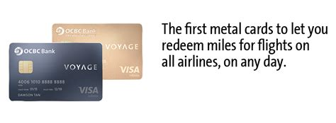 Voyage and Miles Credit Card   OCBC Singapore