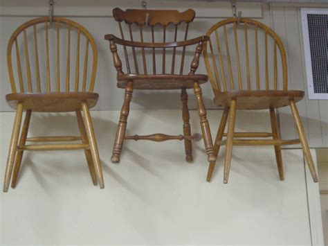 Maple Wood Kitchen Chairs hoop back maple kitchen chairs consign it plus