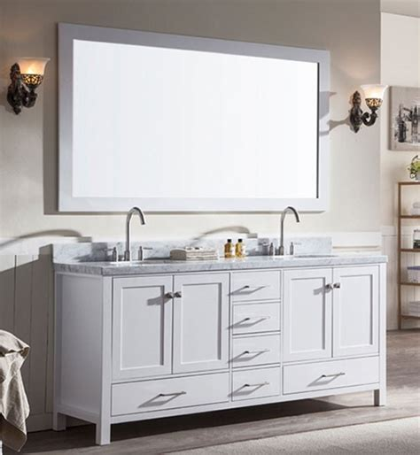 73 inch bathroom vanity ariel cambridge double 73 inch modern bathroom vanity