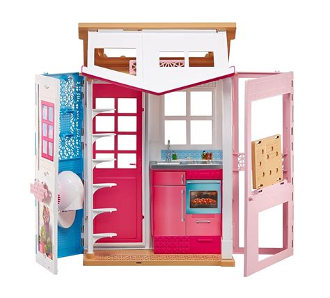 doll house australia barbie 2 story entry doll house toy at mighty ape australia