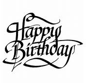 Personal Impressions Happy Birthday Rubber Stamp  Hobbycraft