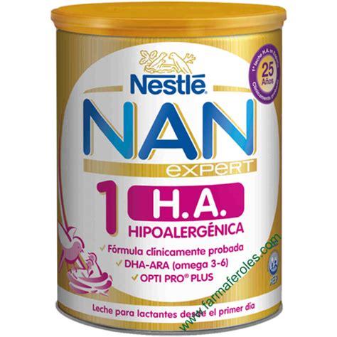 Formula Nan Ha 1 nestle nan h a 1 expert 800gr farmaferoles
