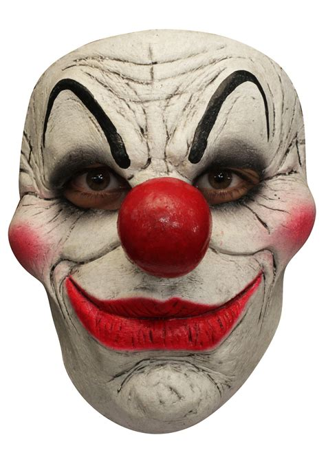 printable clown mask adult clown 4 mask