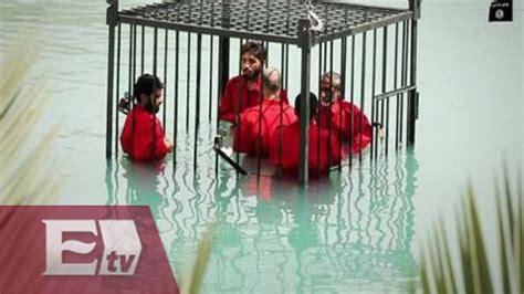 por isis lleg la video 16 ejecutados por isis en irak titulares de la tarde youtube