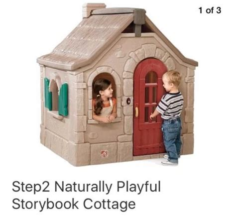 Step2 Naturally Playful Neat Tidy Cottage by Step 2 Cottage Playhouse For Sale Classifieds
