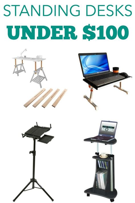 Standing Desks Under 100 Ergonomics Fix