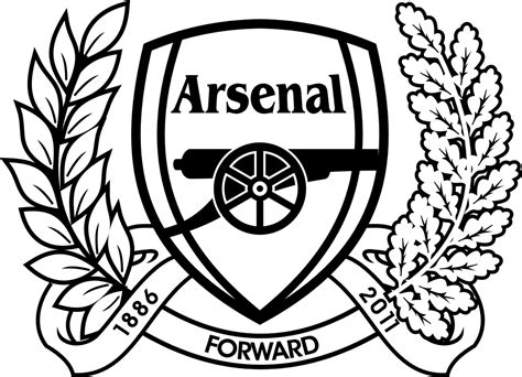 Arsenal Coloring Pages arsenal fc coloring page coloring pages