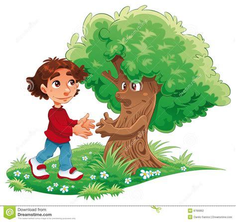 boys tree boy and tree stock photography image 8766862