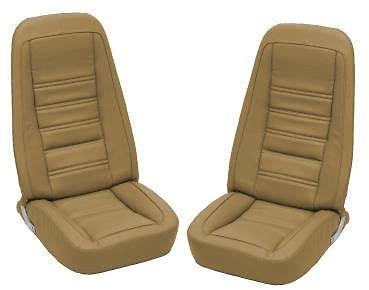 buy 1977 corvette oe reproduction leather/vinyl seat