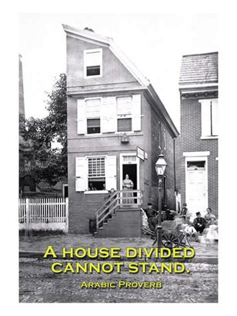 a house divided cannot stand a house divided cannot stand wall decal at allposters com